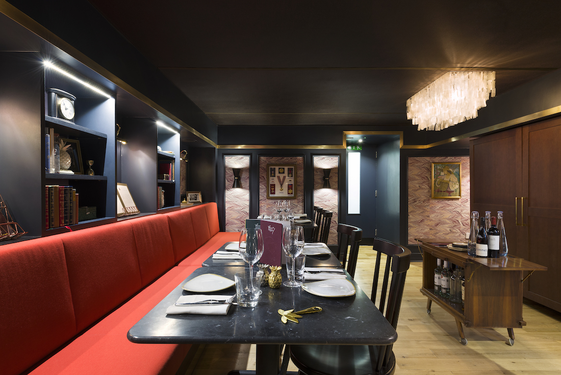 Private Dining Room at Romulo Cafe - 343 Kensington High Street, London, W8 6NW