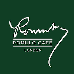 Romulo Café London logo