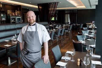 Adam Potten Executive Chef at Brooklands Hotel
