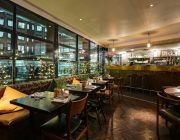 Benugo London Wall - Private Dining - Bar in Background