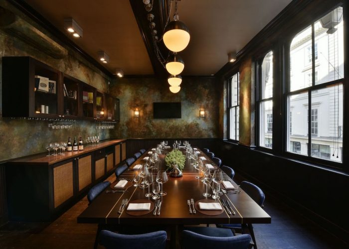 luxury private dining rooms at cabotte