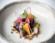 Peninsula Food Image Heritage Beetroots rye soil Ragstone goat's cheese