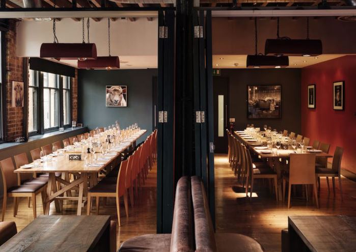Private Dining Rooms at Smiths