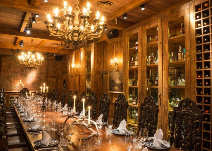 Luxury Private Dining Rooms At Big Easy Canary Wharf