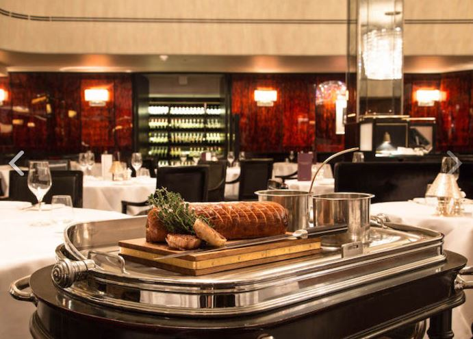 Private Dining Rooms at The Savoy Grill