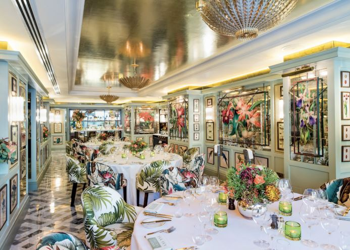 Private Dining Rooms at The Ivy Chelsea Garden