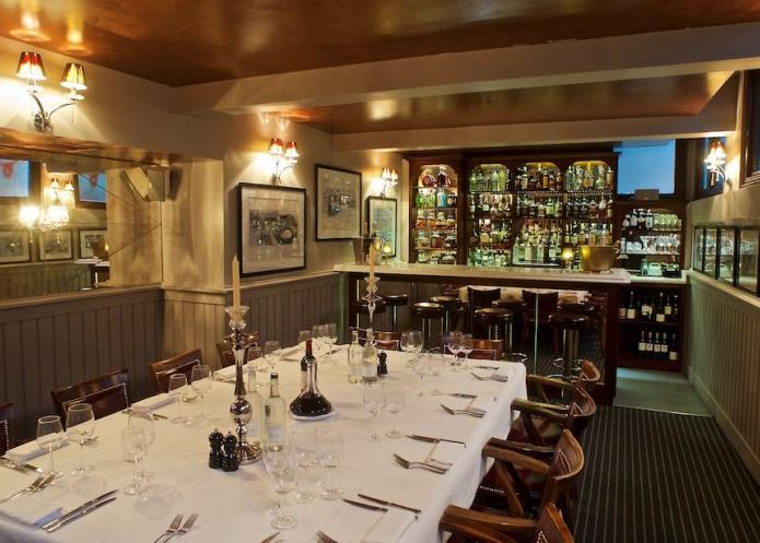 Private dining rooms in london birthday anniversary for Best restaurants private dining rooms london