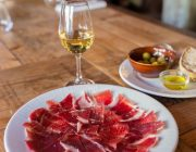 Pizarro Restaurant - Food Image - Wine & Jamon