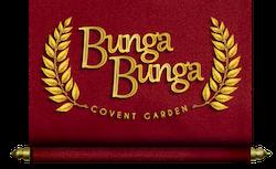 Bunga Bunga – Covent Garden logo