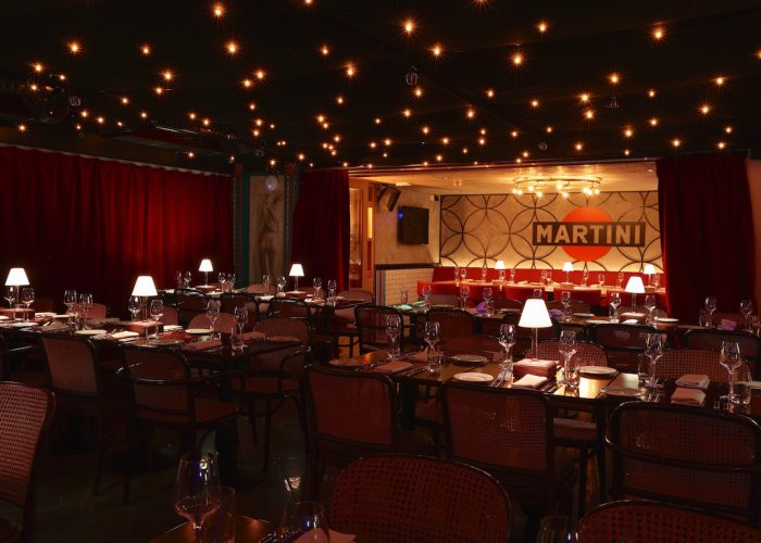 private dining rooms and bunga bunga – covent garden – london w