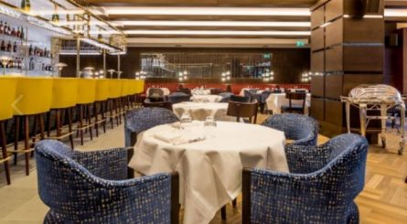 Private Dining Rooms at The Devonshire Club
