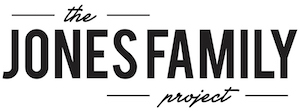 The Jones Family Project Logo