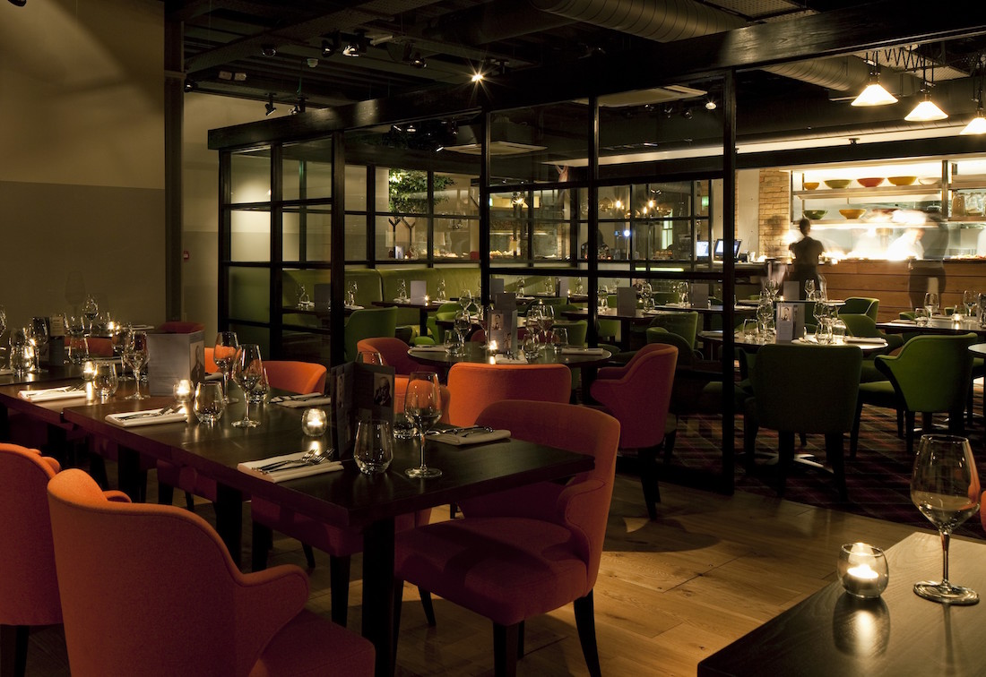 The best private dining rooms in shoreditch for business for Best private dining rooms uk