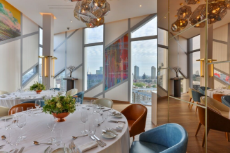M By Montcalm - Private Dining Image - London Skyline