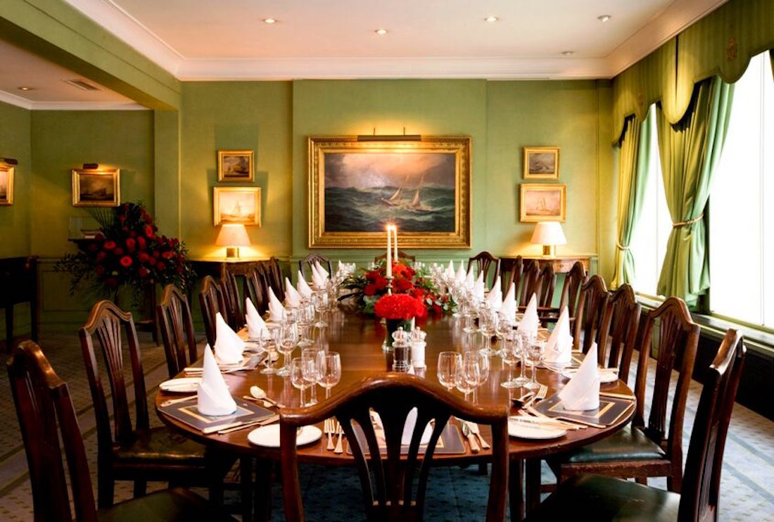 The best private dining rooms in london for corporate for Best private dining rooms uk