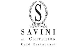 Savini at Criterion logo