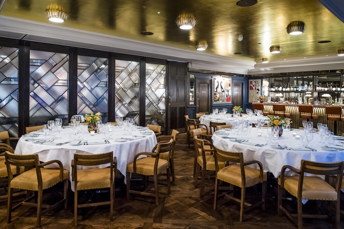 Private dining rooms at the ivy soho brasserie london w for Best private dining rooms uk