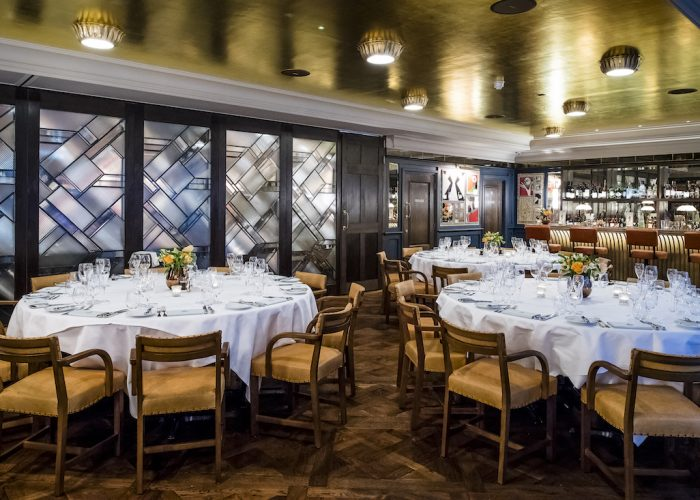 Private Dining Room At The Ivy Soho Brasserie 26 28