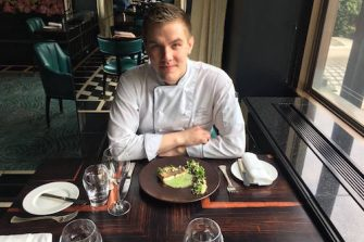 Igor Kabatsikov Chef at Kaspars at The Savoy