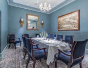 The Petersham Private Dining Room Image Table Set For 10 Guests