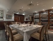 The Petersham Private Dining Room Image The Wine Room Table Set For 10 Guests