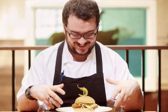 Martin Sweeney Head Chef at Tramshed Restaurant Shoreditch