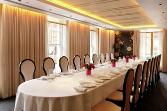 Luxury private dining party rooms in london s best Small dining rooms london