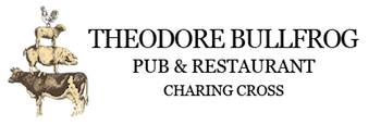 Theodore Bullfrog logo