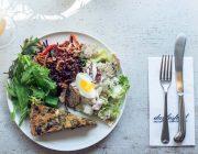 Daylesford Pimlico Food Image Organic Quiche Salad