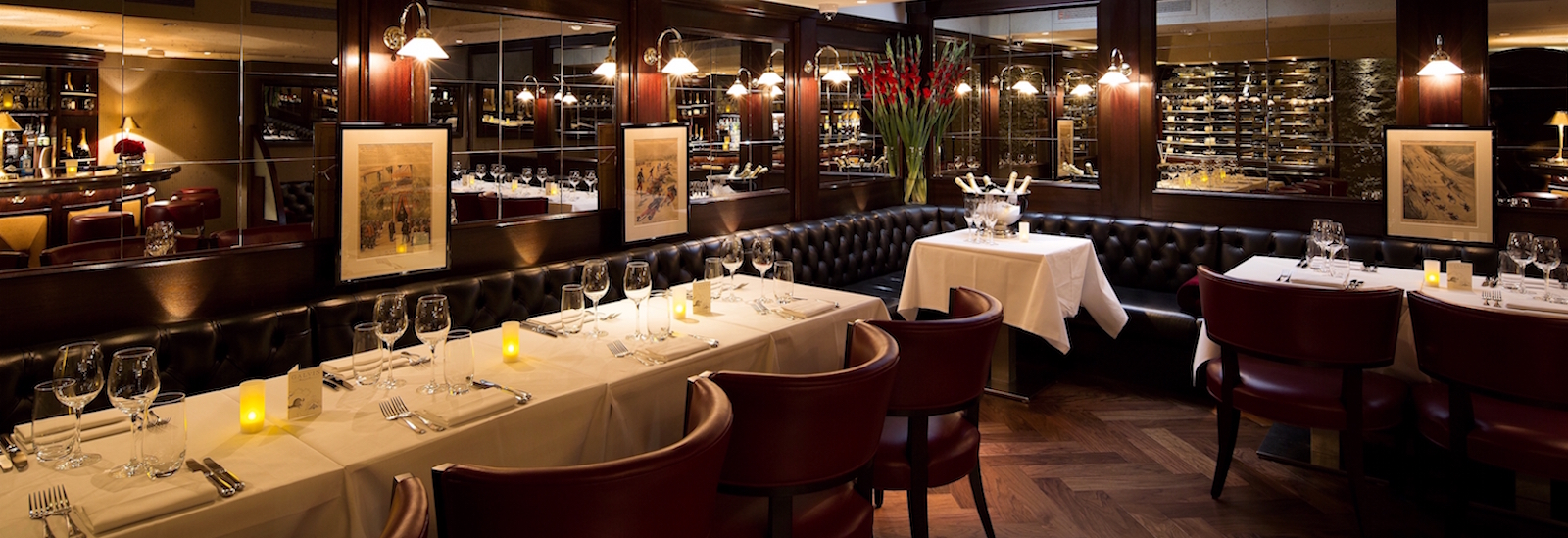 Galvin Bistrot de Luxe Le Cellar Private Dining Masthead Image