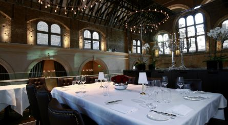 Private Dining Room at Galvin La Chapelle - 35 Spital Square, London, E1 6DY