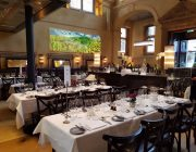 Galvin La Chapelle Private Dining Image Tables Set For 130 Guests