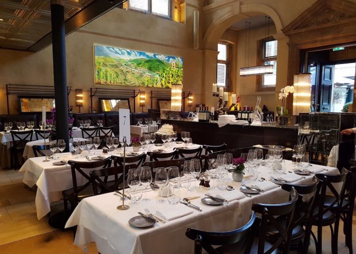 Private dining rooms at galvin la chapelle london e1 for Best private dining rooms uk