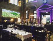 Galvin La Chapelle Private Dining Image Tables Set For 60 Guests