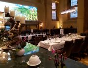 Galvin La Chapelle Table Of Eight Set Up Exclusive Hire
