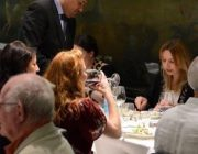 Rex Whistler Restaurant at Tate Britain Private Dining Room Image Guests At Table