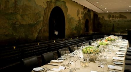 Rex Whistler At Tate Britain Private Dining Room Image Set Table 445x245
