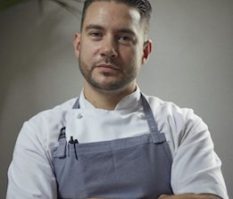 Robert Chambers Head chef at Luca restaurant