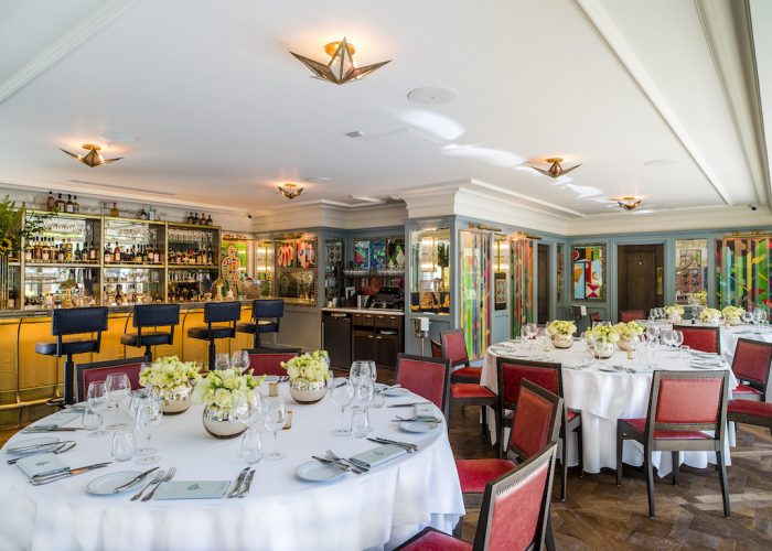 Private dining rooms at the ivy city garden the city for Best private dining rooms chelsea
