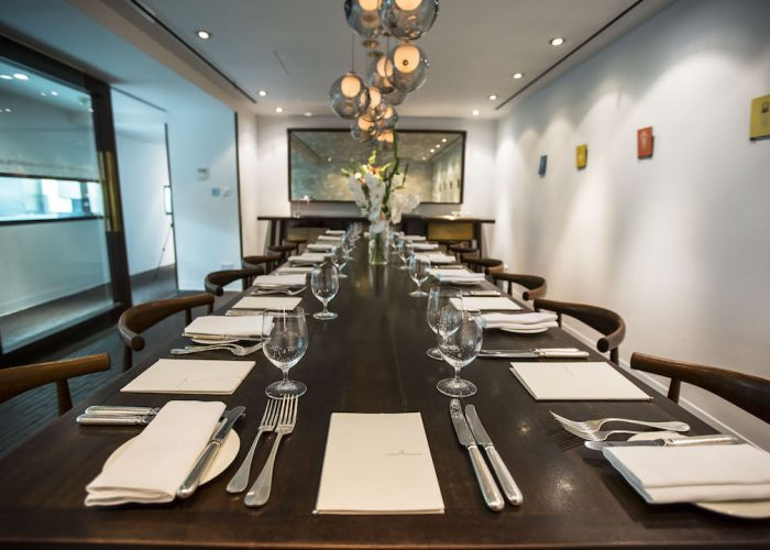 Private dining rooms at pollen street social mayfair for Best private dining rooms mayfair