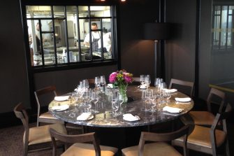 Image of The Chef's Table in the luxury private dining rooms at City Social - London EC2N