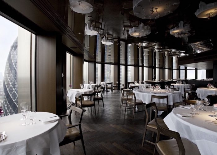 Luxury private dining rooms at city social london ec2n for Best private dining rooms city of london