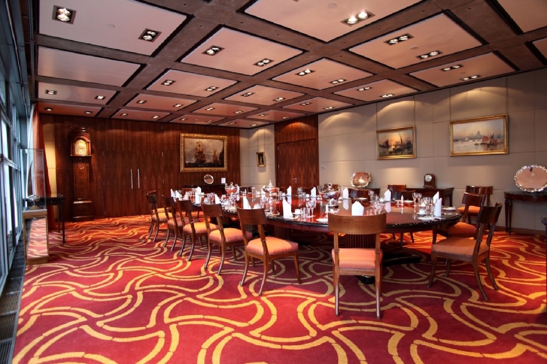 Luxury private dining rooms at lloyd 39 s london ec3 for Best private dining rooms uk