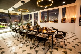 Sea Containers Events The Wren Private Dining Room At Night Image 1