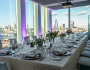 Sea Containers Events The Wren Private Dining Room With Panoramic City Background