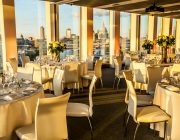 Sea Containers Events View Over city Of London With St. Pauls Cathedral River Thames In Background