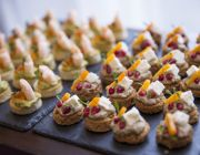 The Grosvenor Hotel Private Dining Food Image Canapes