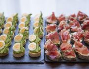 The Grosvenor Hotel Private Dining Food Image2 Canapes