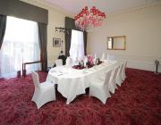 The Grosvenor Hotel The Viceroy Suite Private Dining Image Table Set For 10 Guests