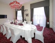 The Grosvenor Hotel The Viceroy Suite Private Dining Image Table Set For 10 Guests Image2